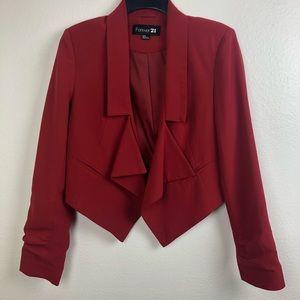Forever 21 | Deep red blazer